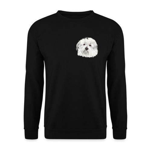 coton-de-tulear - Herre sweater