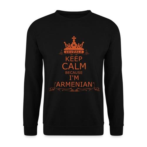 KEEP CALM BECAUSE IM ARMENIAN - Männer Pullover