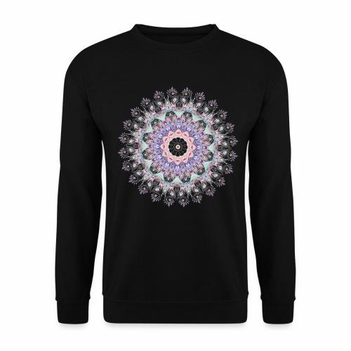 Hvid mandala - Herre sweater