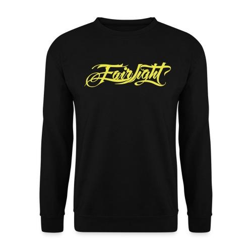 fairlight vector black on - Unisex Sweatshirt