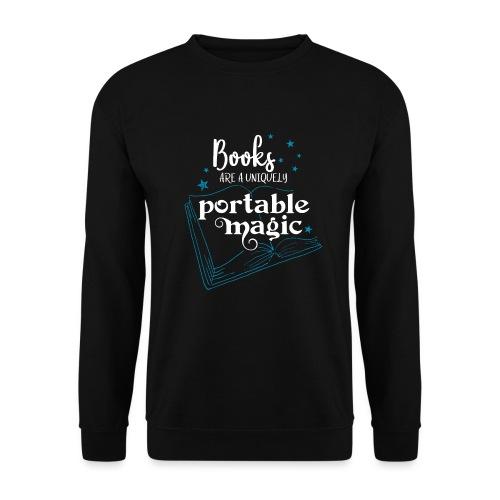 0030 books are unique magic | Magic - Unisex Sweatshirt