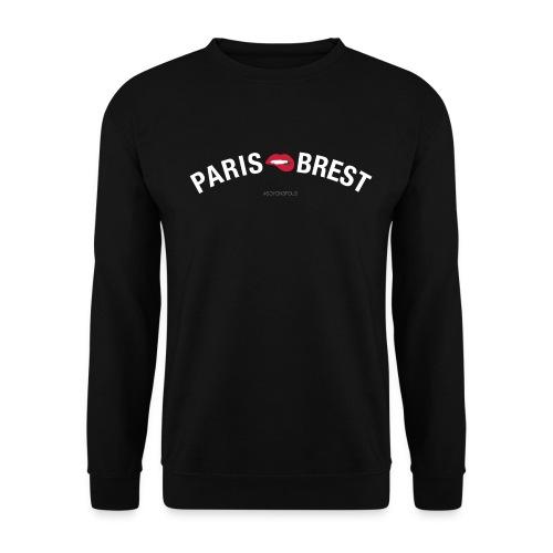 paris brest 01 blanc - Sweat-shirt Unisexe