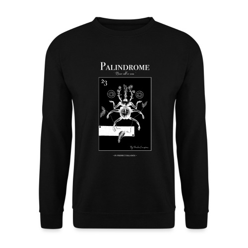 ~ PALINDROME ~ In perfect balance - Unisex sweater