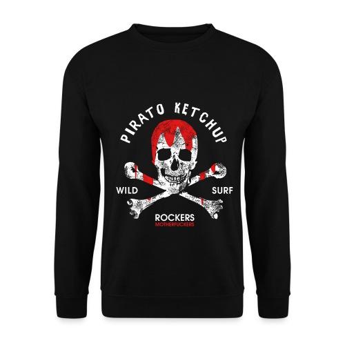 Pirato Ketchup Skull - Men's Sweatshirt