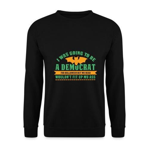 Ich wollte ein Demokrat zu Halloween sein - Männer Pullover