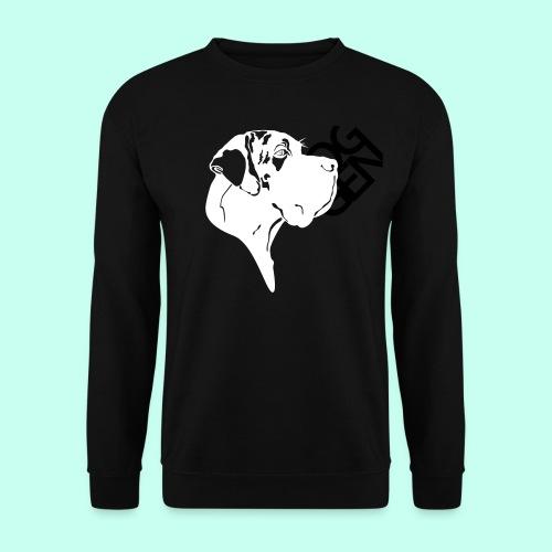Gefleckter Doggenkopf komplex - Männer Pullover