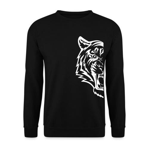 mezza tigre - Felpa da uomo