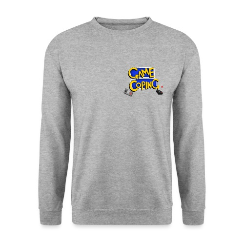 Game Coping Logo - Men's Sweatshirt