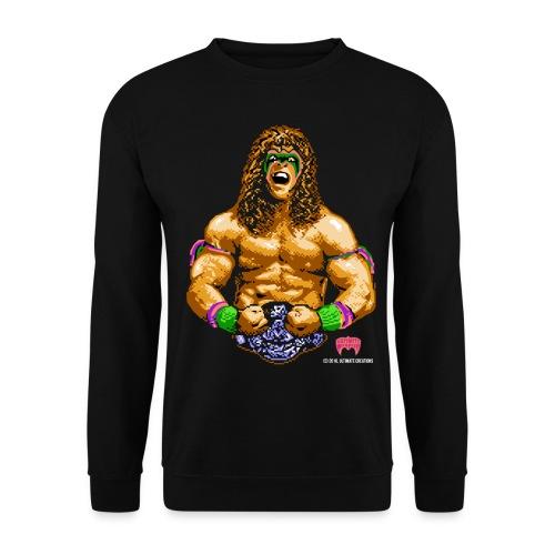 8 bit warrior sweatshirt 4 - Men's Sweatshirt