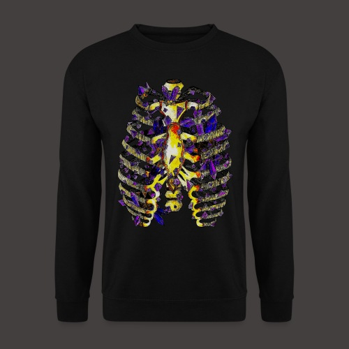La Cage Thoracique de Cristal Creepy - Sweat-shirt Unisex