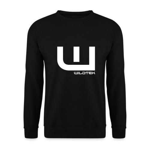 Wildtek Logo White - Men's Sweatshirt