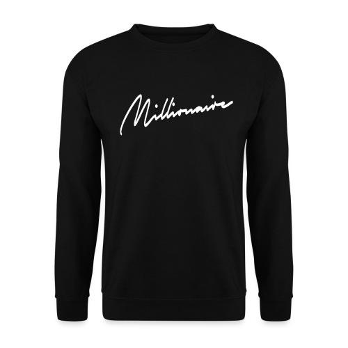 millionairee png - Men's Sweatshirt