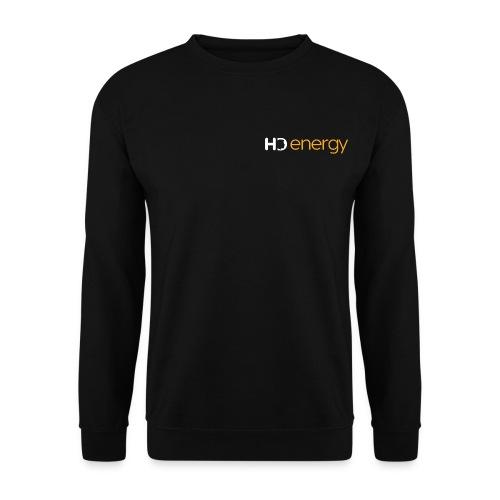 Wit Energy HD-logo - Mannen sweater