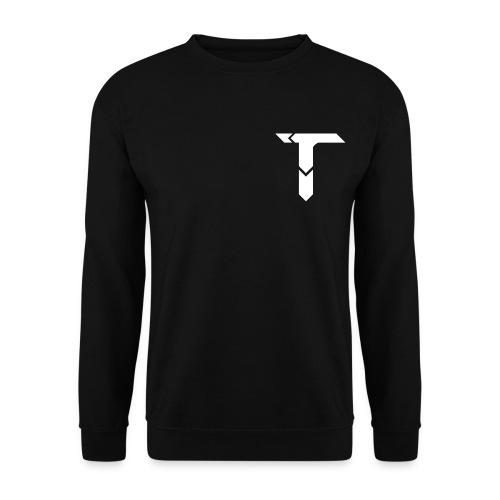 White Logo - Men's Sweatshirt