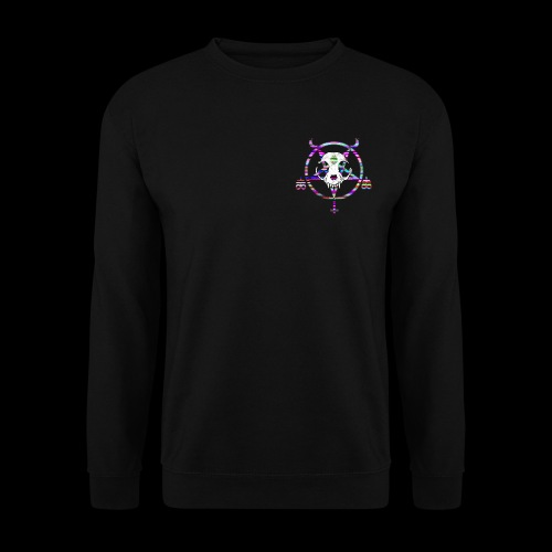glitch cat - Sweat-shirt Unisexe