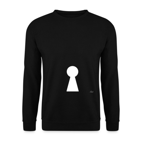 keyesque white - Men's Sweatshirt