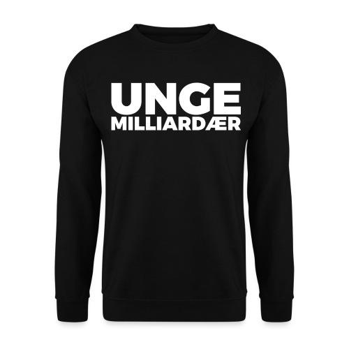 unge-mill-logo-hvit - Genser unisex