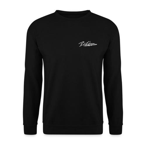 LogoCursiveBlanc - Sweat-shirt Unisexe