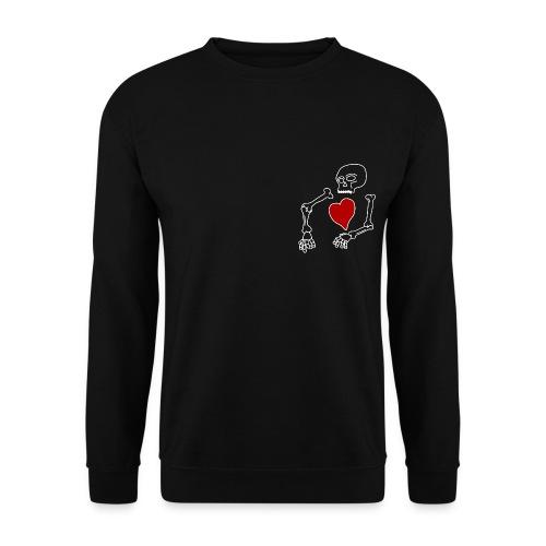 skeleton boi, good heart - Men's Sweatshirt
