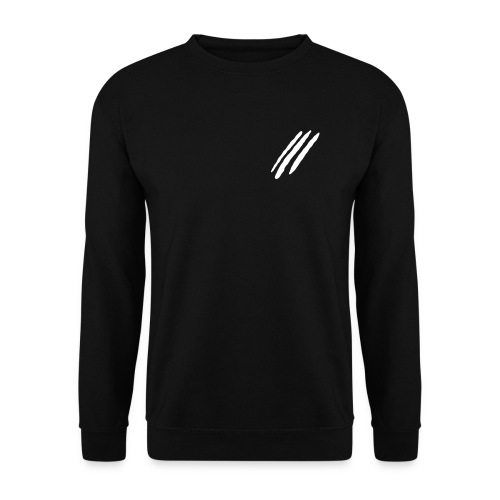 ThreeLine Black Jumper - Unisex Sweatshirt