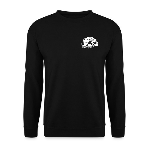 logo noir petit - Sweat-shirt Unisexe
