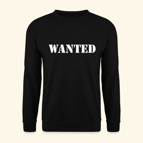 WANTED - Sweat-shirt Unisexe
