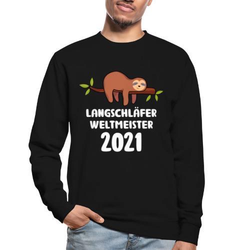 Faultier Spruch Schlafen Schlafshirt Geschenk - Unisex Pullover