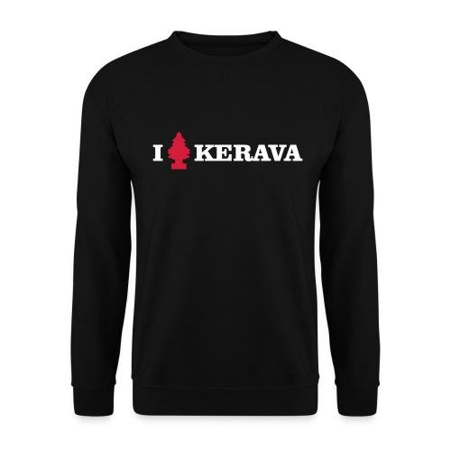 I LOVE KERAVA - Miesten svetaripaita
