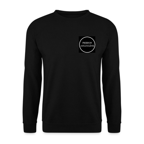 Freerun Angouleme noir logo - Sweat-shirt Unisex