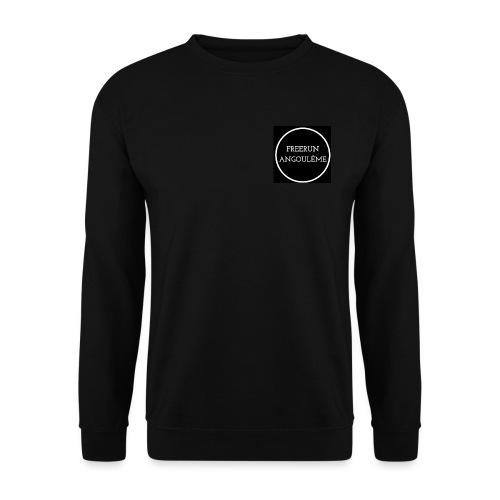 Freerun Angouleme noir logo - Sweat-shirt Unisexe