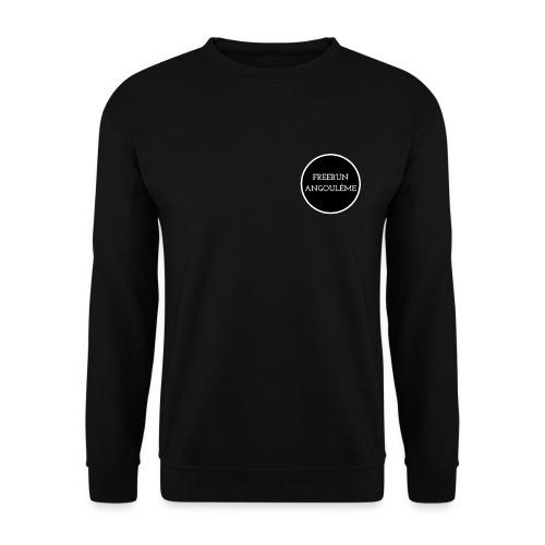 freerun noir logo - Sweat-shirt Unisex