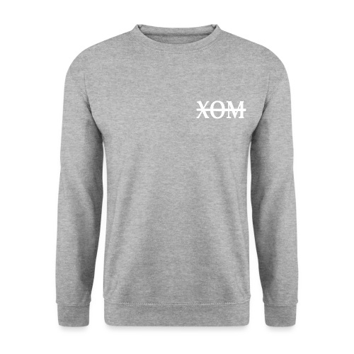 xom white png - Unisex Sweatshirt