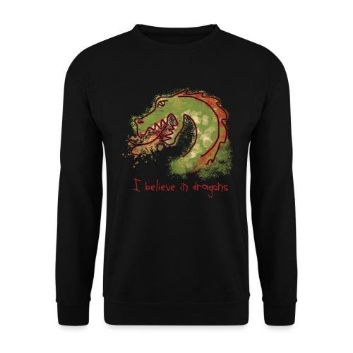 I believe in dragons - Men's Sweatshirt
