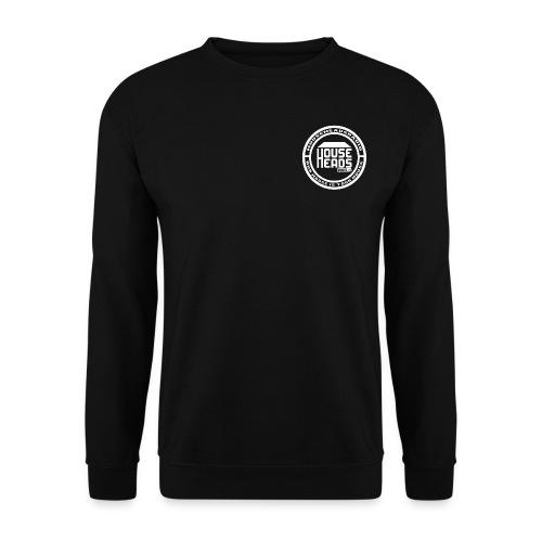HouseHeadsRadio NEW LOGO 2 - WHITE - Men's Sweatshirt