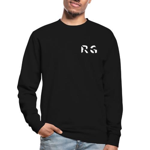 RG Wit Logo - Unisex Sweatshirt
