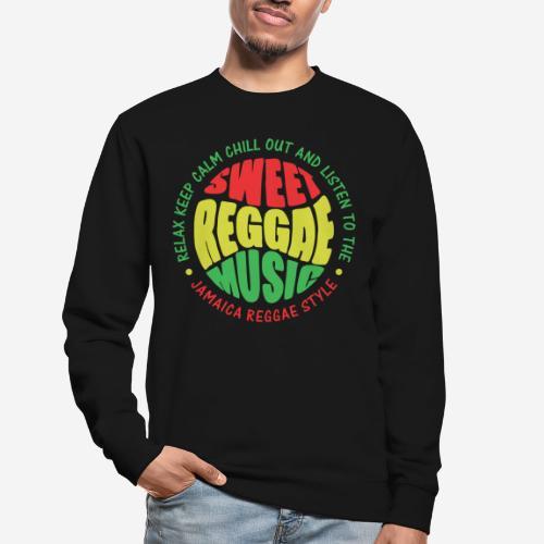 relax chill reggae music jamaica - Unisex Pullover