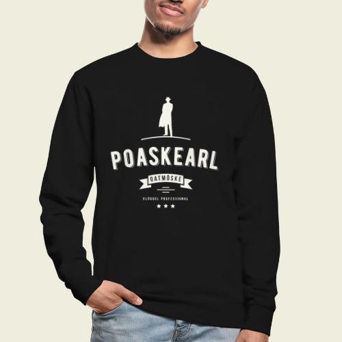 Poaskearl Oatmöske - Unisex sweater
