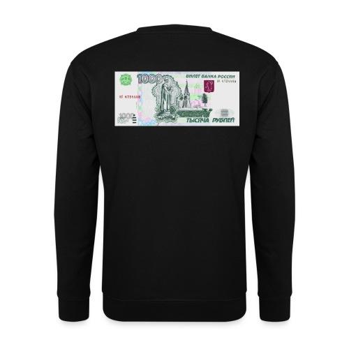 1000 ca$h ruble - Unisex Sweatshirt
