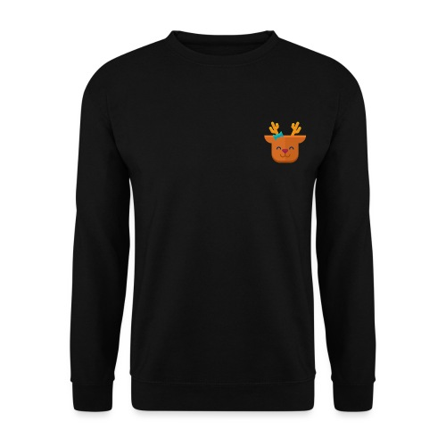 When Deers Smile by EmilyLife® - Men's Sweatshirt