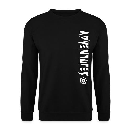 Jebus Adventures Vertical Stripe - Men's Sweatshirt