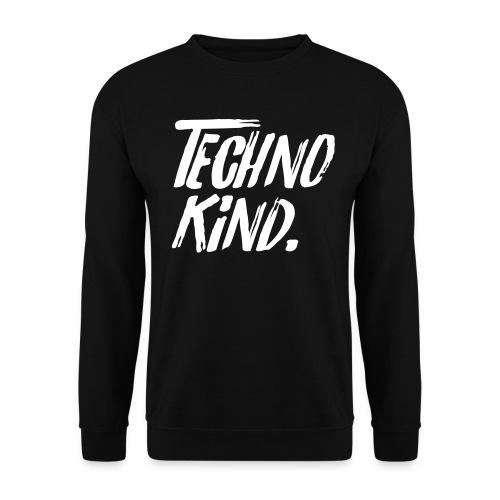 Techno Kind Raver Familie Afterhour Musik DJ Liebe - Unisex Pullover