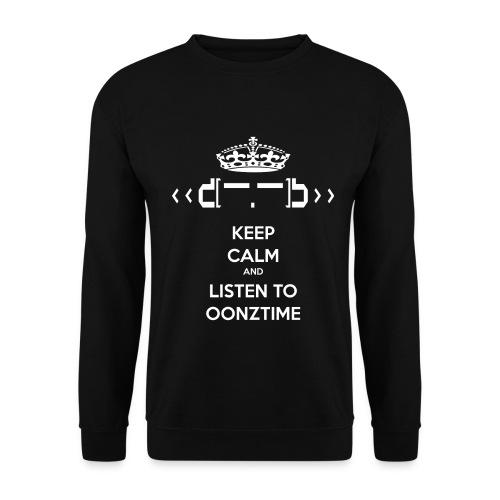 Keep Calm png - Men's Sweatshirt