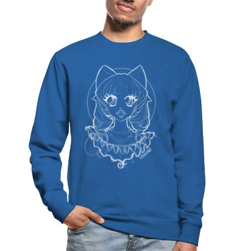 Vampier Lena wit EnChantalled png - Unisex Sweatshirt