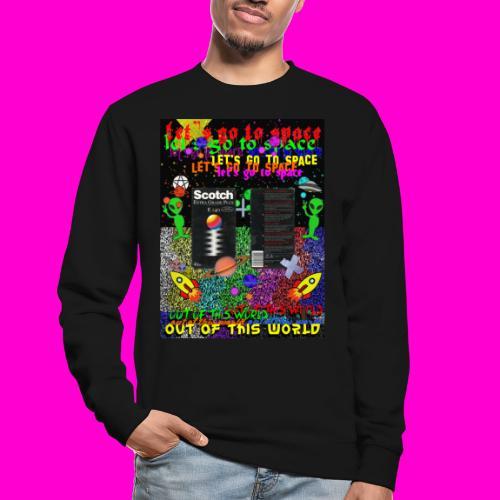 LET S GO TO SPACE - Unisex Sweatshirt