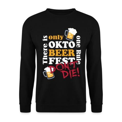 Oktoberfest 2019 - don't die! - Männer Pullover