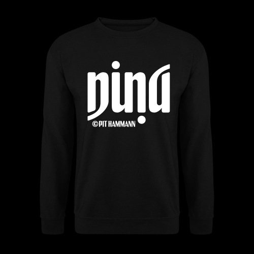 Ambigramm Nina 01 Pit Hammann - Unisex Pullover