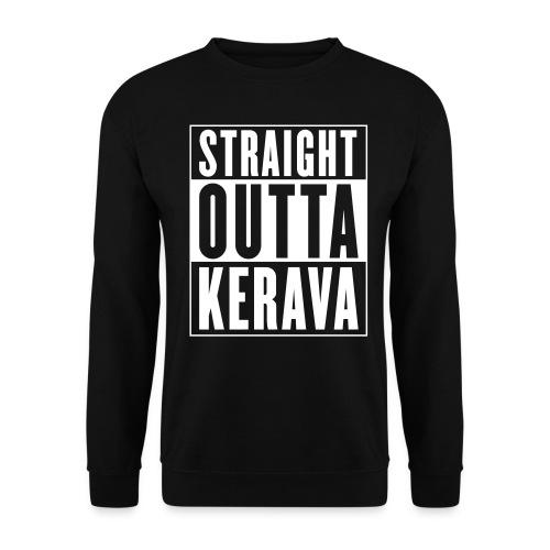 Straight outta Kerava - Unisex svetaripaita