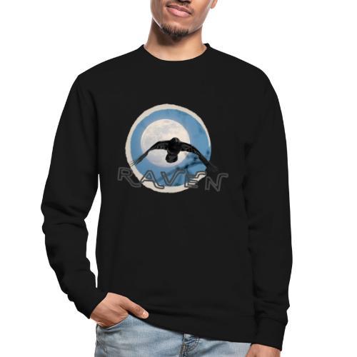 Australian Raven Full Moon - Unisex Sweatshirt