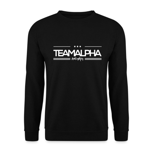 Team Alpha Alphatier Geschenk für Alphas - Unisex Pullover