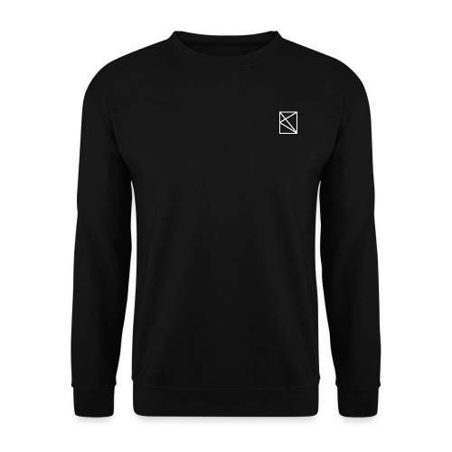 oknlogovectorblanc - Sweat-shirt Homme